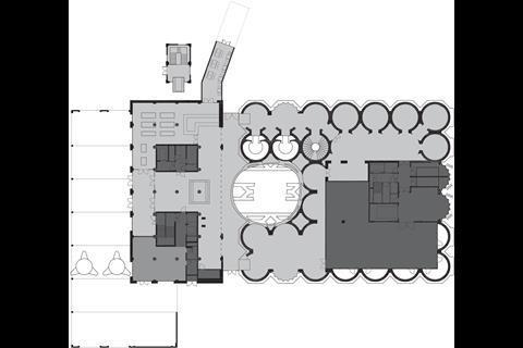 Heatherwick's Zeitz MOCAA - plan ground floor